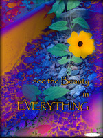 Today's Art Print: beauty in everything'