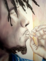 Today's Art Print: Spliff'
