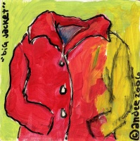 Today's Art Print: Big Red Jacket'