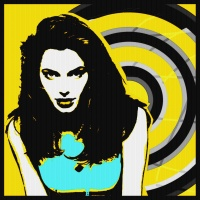 Today's Art Print: angelina jolie-circle'