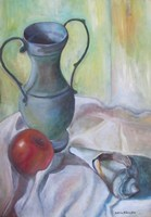 Still Life with Green Urn