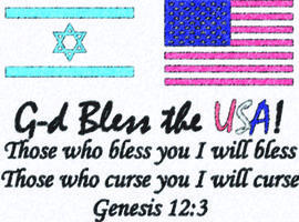 G-d Bless the USA