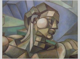 cubist michaelangelo adam head
