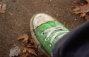 Title: ode to my green converse
