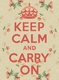Title: Keep Calm and Carry On Vintage