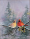 Title: WINTER CARDINALS by SHARON SHARPE